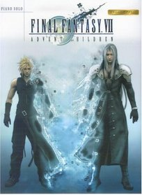 Final Fantasy VII Advent Children Piano Solo Sheet Music 1