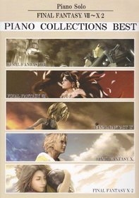 Final Fantasy VII - X-2 Piano Collections Best Sheet Music 1