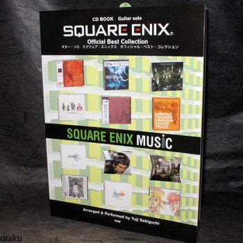 Square Enix Best Guitar Solo Score Sheet Music and CD 2